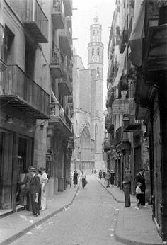 Barcelona 1936  Carrer Argenteria