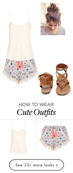 """""""Cute Summer Outfit"""" by puglover14 on Polyvore featuring New Look, The Row and Breckelle's"""
