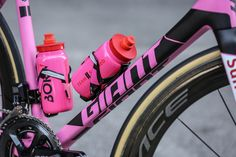 Giant TCR | Giro d'Italia | Team Sunweb - A closer look at Giant Bicycles pink #Giro100🇮🇹 TCR.  📸 teamsunweb.com/pink-tcr