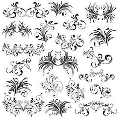 Decorative Borders, Swirl Pattern, Clips, Make And Sell, Swirls, My Design, Craft Projects, Clip Art, Wall Art