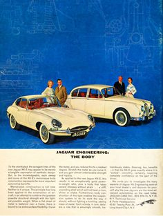 Jaguar long form print ad 1963