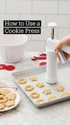 Delicious Cookie Recipes, Fun Baking Recipes, Yummy Food, Cake Decorating Kits, Wilton Cake Decorating, Spritz Cookies, Yummy Cookies, Fun Desserts, Dessert Recipes