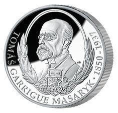 Poprvé v Národní Pokladnici!Tomáš Garrigue Masaryk na oficiální minci z 1 kg stříbra