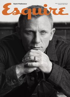 Daniel Craig by Terry O'Neil for Esquire UK | October 2012