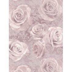 Rózsa és Damaszt Mintás Tapéta