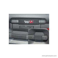 Grab Handle Kit, Black; 07-10 Jeep Wrangler JKU