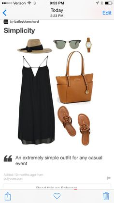 Comfy and simple summer