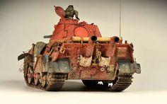 E-50 Paper Panzer - Trumpeter nr 1536 - Adam Wilder - Imgur