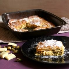 White Chocolate Pistachio Baklava - a delicious twist on the Greek classic