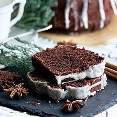 Christmas & juicy: gingerbread- Weihnachtlich & saftig: Gewürzkuchen Spice Cake ♥ ️ Rightly one of the most popular … - Dessert Oreo, Dessert Recipes, Cupcake Recipes, Food Cakes, Cookies Et Biscuits, Cake Cookies, Cupcakes, Gateaux Cake, Winter Desserts