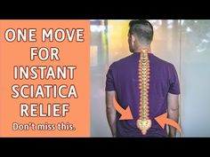 Backache is of the populace will experience pain in the back which can resolve within a couple of weeks to months. Neck and back pain can be chronic Sciatic Nerve Exercises, Sciatic Nerve Relief, Sciatic Pain, Back Pain Exercises, Sciatica Stretches, Low Back Pain Relief, Neck And Back Pain, Back Spasm Relief, Chronic Sciatica