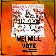 #INDIOlolita #INDIO120s @Cerveza Indio  #LolitaFashion #beer #kawaii #sweetlolita