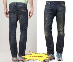 DIESEL 'Darron' Regular Slim Tapered Jeans in 0813S NEW NWT $218 #DIESEL #SlimTapered