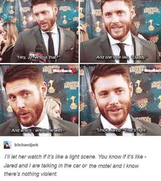 """He's a good daddy. """"Uncle Jared """""""