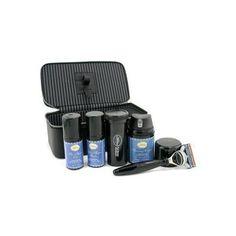 Travel Kit (Lavender): Razor+ Shaving Brush+ Pre-Shave Oil 30ml+ Shaving Cream 45ml+ A/S Balm 30ml+ Case 5pcs+1case