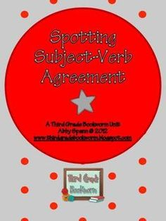 Spotting Subject-Verb Agreement $5.00