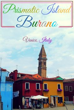 The first glimpse of Burano from our ferry was a candy-colored cluster of buildings rising from the emerald calm waters. As we cruised closer the houses awash in a vivid splash of colors became evident. Burano is an island in the Venetian Lagoon north of Venice in Italy.