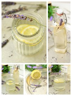 Erfrischende Lavendel Limonade - Delicious Stories Panna Cotta, Ethnic Recipes, Desserts, Food, Lavender Lemonade, Yummy Food, Homemade, Sodas, Summer