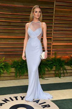 Oscar Parties Best Dressed: Rosie Huntington-Whiteley