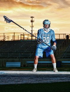 lacrosse sports senior pictures and guy poses by Rebecca Houlihan Photography