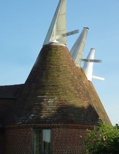 Oast House in Kent  Part of the British tradition