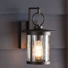 Enjoy Your Spring With Diy Outdoor Lanterns 23 - When choosing outdoor lighting for your home, consider the overall appearance of your home. For example, how are the lighting fixtures going to look f. Outdoor Wall Lantern, Outdoor Wall Sconce, Outdoor Walls, Exterior Light Fixtures, Outdoor Light Fixtures, Garage Lighting, Outdoor Wall Lighting, Outdoor Garage Lights, Lantern Lighting