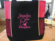 9 Tote Bag special nurse rn lvn     special listing by TOTEmebags