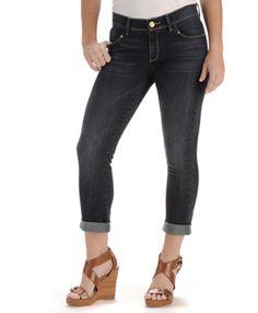 Vintage Slim Capri Pants