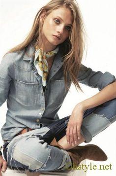 Jeans, jeans, jeans.