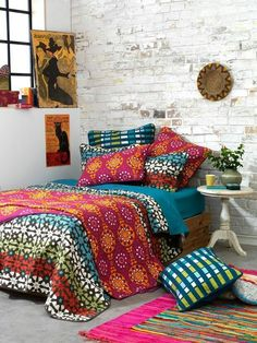 Mix and match patterns - Bedroom