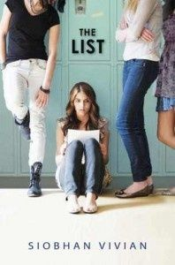 The List by Siobhan Vivian. GREAT book for teen girls and adults (written by my sis-in-law!!)