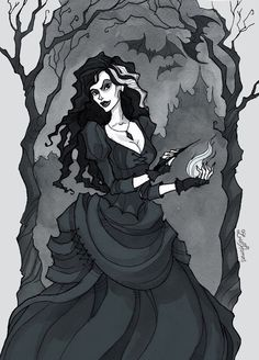 favorite villain: bellatrix lestrange (: