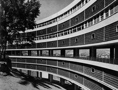Conjunto habitacional Pedregulho, 1947-52, Rio de Janeiro -  Arqtº Affonso Eduardo Reidy  | aU - Arquitetura e Urbanismo