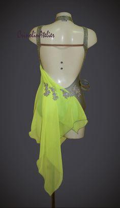 latin dress competition, salsa dress
