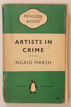 Artists in Crime, Ngaio Marsh: 3/5