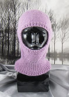 This is my Simple Chunky Balaclava knitting pattern.