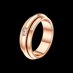 Discover Piaget Possession ring in rose gold, diamond on Piaget US online jewelry store - G34P6A00 Piaget luxury ring