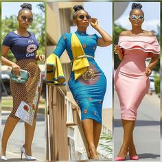 African Dresses For Women, African Print Dresses, African Print Fashion, Africa Fashion, African Attire, African Fashion Dresses, African Wear, African Women, Fashion Prints