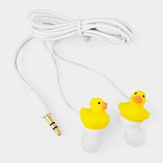 Duck Earbuds -too funny!
