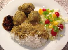 How to Make Meat Balls in Curry Sauce  Danish Style Recipe - Snapguide