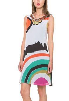 61V2LC9_1000 Desigual Lacroix Dress Raquel Buy Online