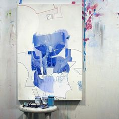 In studio with Brooklyn based artist Erik Jones