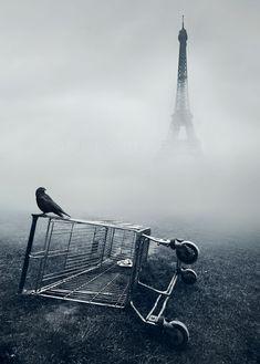 L'altra faccia di Parigi. Nel sito web di Mikko Lagerstedt anche alcuni tutorials per imitare i suoi effetti