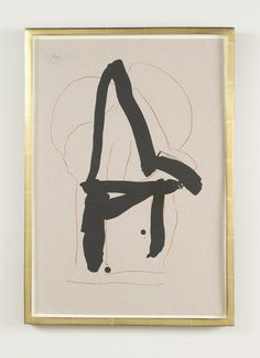 A Robert Motherwell lithograph titled Beau Geste IV from a series of 6.   This is a printers proof from the edition of   The lithograph is from two aluminum plates printed in sanguine and black. Listed in the catalogue raisonne on page 371.  Circa 1989.  16.75 W x 23.75 H