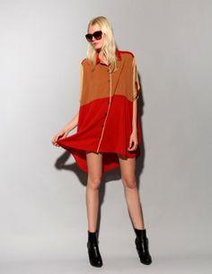 Color block tunic [Evt1044] - $139 ($100-200) - Svpply