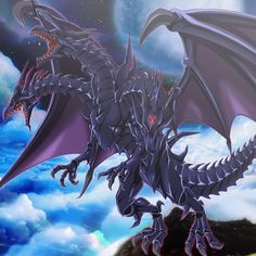 Ultimate Red-eyes by Zerpens Monster Art, Mythical Creatures Art, Fantasy Creatures, Dark Fantasy Art, Fantasy Artwork, Digimon World, Yugioh Dragons, Yugioh Yami, Yugioh Monsters