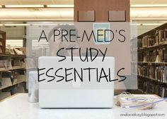 Just a premed student blogging her way through college.