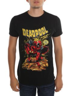 Marvel Deadpool Merc With A Mouth T-Shirt