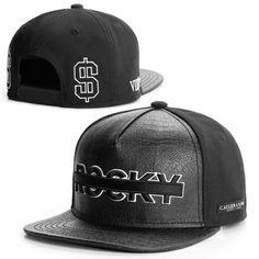 6b599511 2015 new fashion black leather snapback caps baseball hats for men women  sport hip hop mens
