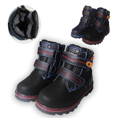 Warm Snow Boots Women Winter Ankle Boots Men Fur Lining Boots Anti-Slip Thickening Outdoor Casual Walking Shoes Comfortable Sole for Boys Girls Parent-Child Cotton Shoes Size 1-13 UK